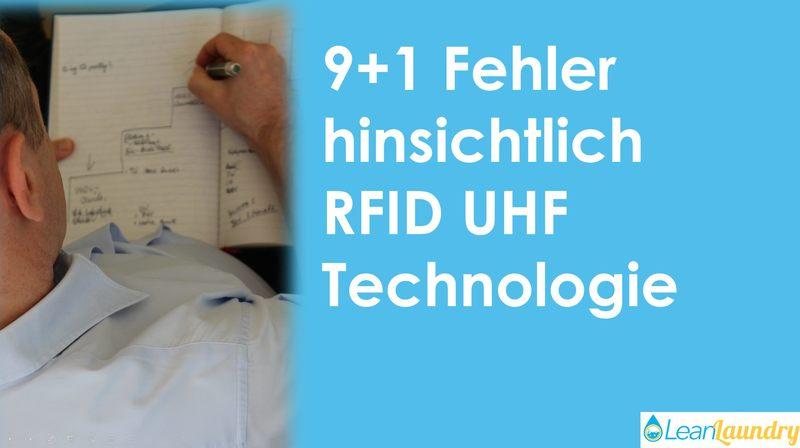 Thumbnail Blog 9+1 Fehler hinsichtlich RFID UHF Technologie